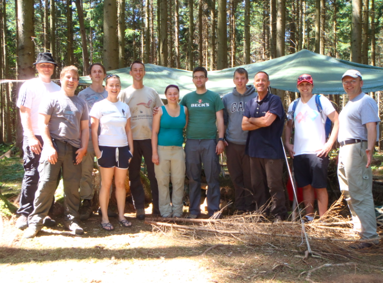 Bushcraft Survival Training Festival 2014