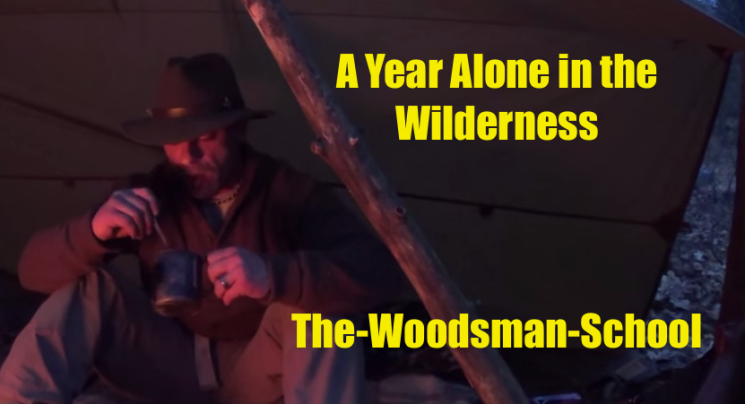 Was ist Bushcraft: A Year Alone in the Wilderness