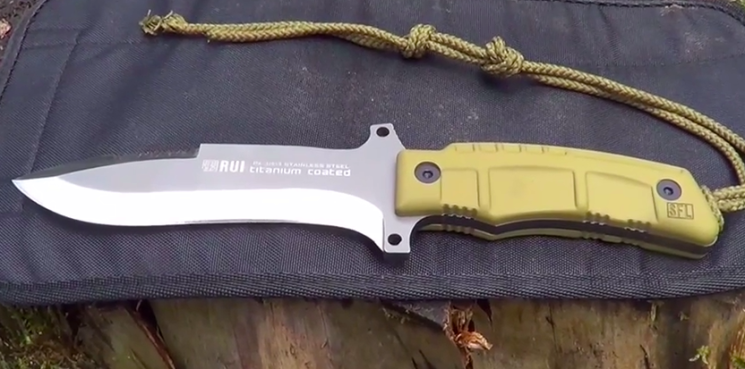 Bushcraft Messer: Rui Tactical Knife
